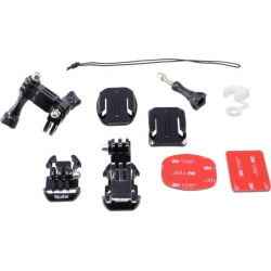 GP GRAB BAG OF MOUNTS (FOR ROLLEI AC300/310/400/410/500&ALL GOPRO CAM (ACCESORIO COMPATIBLE GOPRO)