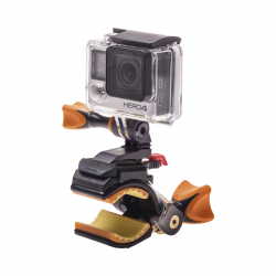 AC MOUNT COBRA BLACK (PARA AC300/310/400/410/500 + GOPRO) ROLL (ACCESORIO COMPATIBLE GOPRO)