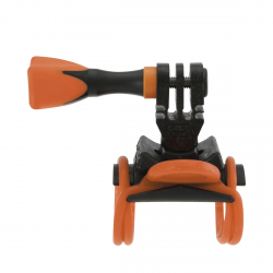 BICYCLE MOUNT UNIVERSAL (PARA AC300/310/400/410/500 + GOPRO) ROLLEI (ACCESORIO COMPATIBLE GOPRO)
