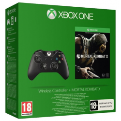XBOX ONE MANDO WIRELESS + MORTAL KOMBAT X