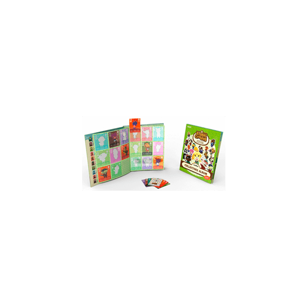 AMIIBO PACK 3 TARJETAS ANIMAL CROSSING HHD + ALBUM SERIE 3
