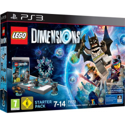 LEGO DIMENSIONS STARTER PACK- PS3