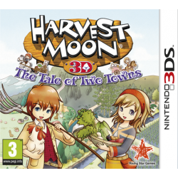 HARVEST MOON TALE OF TWO TOWNS STICKER EDITION-3DS