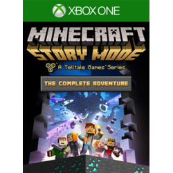 MINECRAFT STORY MODE THE COMPLETE ADVENTURE-XBOX ONE