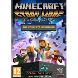 MINECRAFT STORY MODE THE COMPLETE ADVENTURE-PC