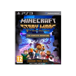 MINECRAFT STORY MODE THE COMPLETE ADVENTURE-PS3