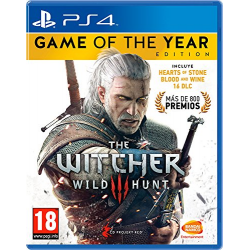 THE WITCHER 3 WILD HUNT GOTY EDITION-PS4