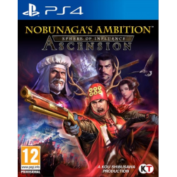 NOBUNAGAS AMBITION SPHERE OF INFLUENCE A-PS4