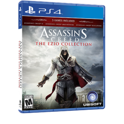 ASSASSINS CREED THE EZIO COLLECTION-PS4
