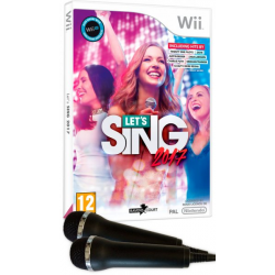 LETS SING 2017 + 2 MICROS-WII