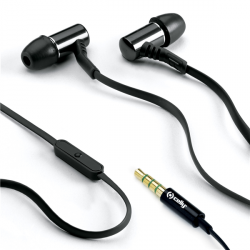 AURICULARES 3.5 MM NEGRO BASIC