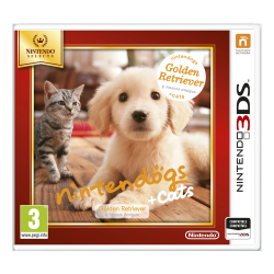 NINTENDOGS + GATOS GOLDEN RETRIEVER SELECT-3DS