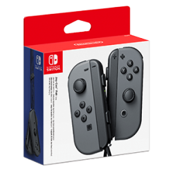SWITCH JOY-CON (SET IZDA/DCHA) GRIS