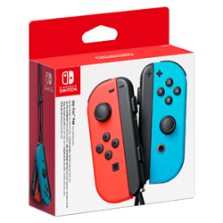 SWITCH JOY-CON (SET IZDA/DCHA) AZUL NEON/ROJO NEON