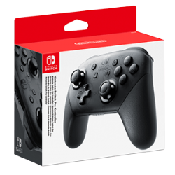 SWITCH PRO CONTROLLER + CABLE USB