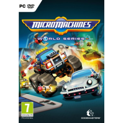 MICRO MACHINES WORLD SERIES-PC