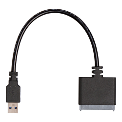NOTEBOOK UPGRADE KIT FOR SSD - USB TO STA CABLE WITH SOFWARE DOWNLOAD