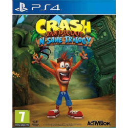 CRASH BANDICOOT N SANE TRILOGY-PS4