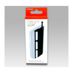 N3DS COVERPLATE + STYLUS WOXTER