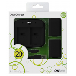 XBOX 360 DUAL CHARGE KIT