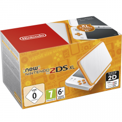 CONSOLA NEW 2DS XL BLANCO/NARANJA