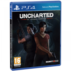 UNCHARTED THE LOS LEGACY-PS4