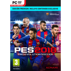 PRO EVOLUTION SOCCER 2018 PREMIUM EDITION-PC