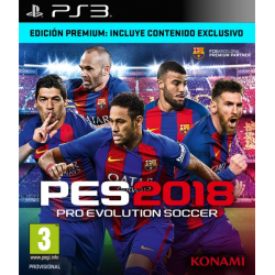 PRO EVOLUTION SOCCER 2018 PREMIUM EDITION-PS3