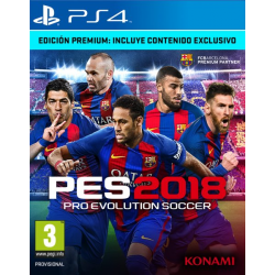 PRO EVOLUTION SOCCER 2018 PREMIUM EDITION-PS4