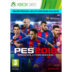 PRO EVOLUTION SOCCER 2018 PREMIUM EDITION-XBOX 360
