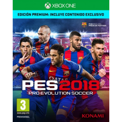 PRO EVOLUTION SOCCER 2018 PREMIUM EDITION-XBOX ONE