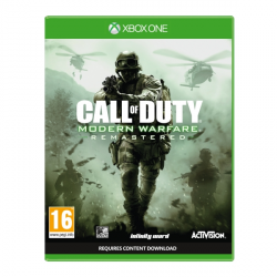 C OF DUTY MODERN WARFARE REMASTERED-XBOX ONE