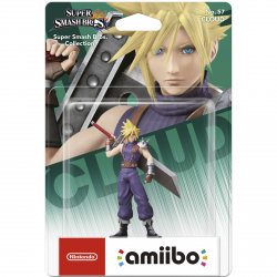FIG AMIIBO CLOUD Nº 57 (S SMASH BROS