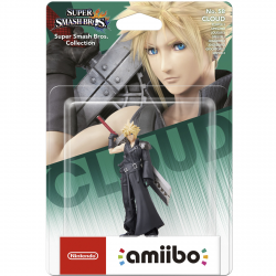 FIG AMIIBO CLOUD Nº 58 VERSION2 (S SMASH BROS)