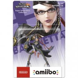 FIG AMIIBO BAYONETTA Nº 62 VERSION 2 (S SMASH BROS