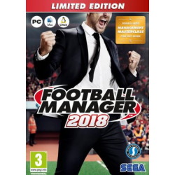 FOOTBALL MANAGER 2018 LIMITED ED-PC