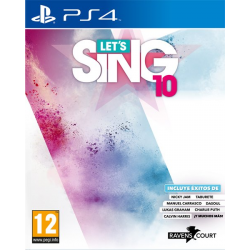 LETS SING 10-PS4