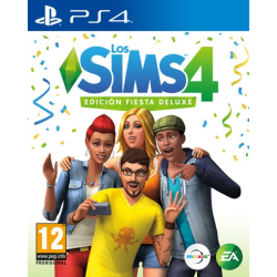 LOS SIMS 4 DELUXE EDITION-PS4