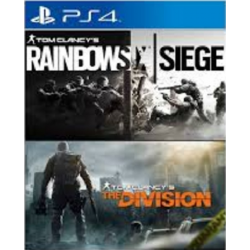 COMPILATION RAINBOW SIX + THE DIVISION-PS4