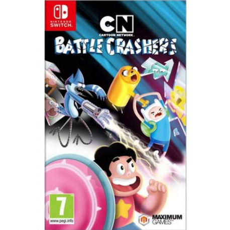 CARTOON NETWORK BATTLE CRASHES-SWITCH