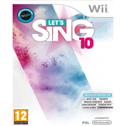 LETS SING 10 + 2 MICROS-WII
