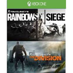 COMPILATION RAINBOW SIX + THE DIVISION-XBOX ONE