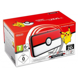CONSOLA NEW 2DS XL POKEBALL EDITION