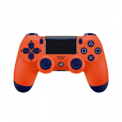 PS4 DUALSHOCK SUNSET ORANGE
